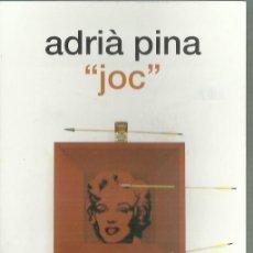 Arte: ADRIÁ PINA. TARJETA DE PRESENTACIÓN. CENTRE DE ART DE L´ESTACIÓ. DENIA , 2000.. Lote 246133330