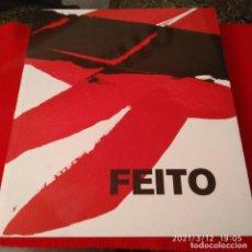 Arte: CATÁLOGO DE FEITO, MUSEO REINA SOFIA, MADRID 2002, 396 PÁGINAS, EN RÚSTICA CON SOLAPAS.. Lote 247393925