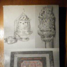 Arte: LA PLATERÍA EN LAS CATEDRALES DE SALAMANCA -SIGLOS XV-XX - SEGUÍ GONZÁLEZ, MÓNICA. Lote 247611160