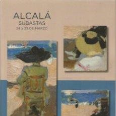 Arte: CATALOGO PINTURA ANTIGUA SIGLO XIX CONTEMPORANEA ARTES DECORATIVAS ESCULTURAS MUEBLES JOYAS RELOJES. Lote 264768419