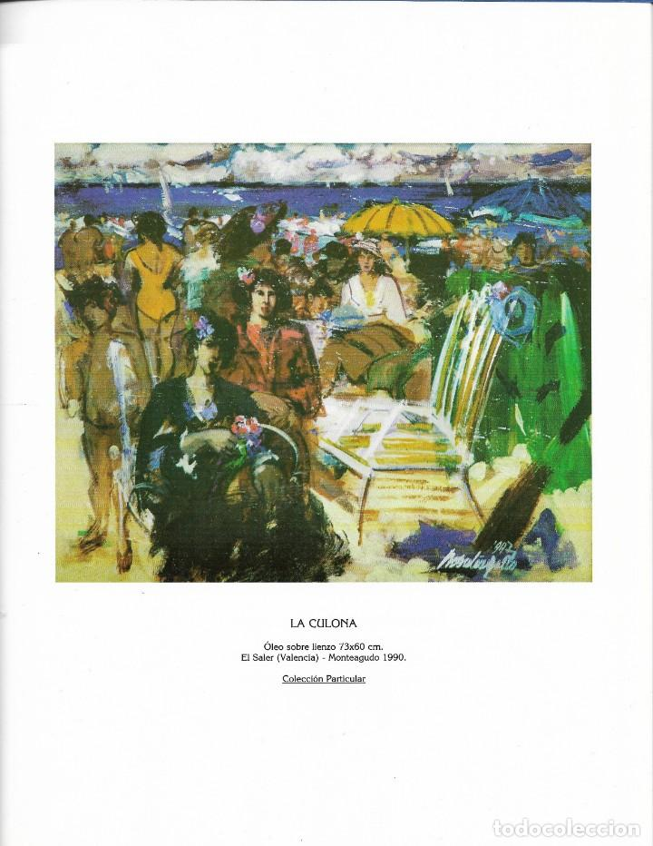Arte: PHILIPPE MONTEAGUDO. CATALOGO.EXPOSICION GALERIA DURAN. OBRA RECIENTE. 1990-1997.1998. - Foto 2 - 251802580
