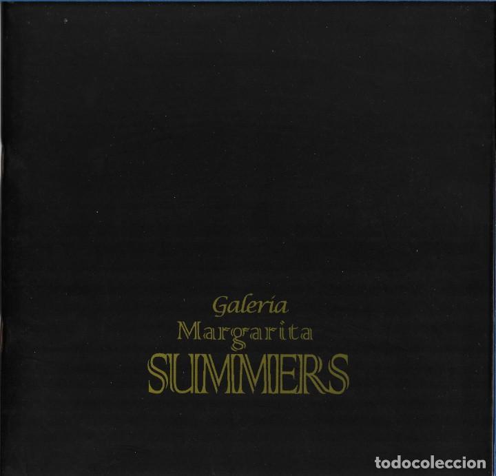 ORALLO. CATALOGO EXPOSICION MARGARITA SUMMERS. FEBRERO 1997. (Arte - Catálogos)
