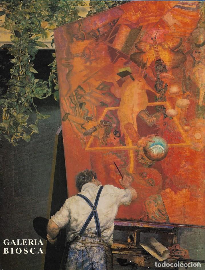 Arte: ALCORLO. CATALOGO EXPOSICION GALERÍA BIOSCA. MAYO 1990. - Foto 2 - 251874920