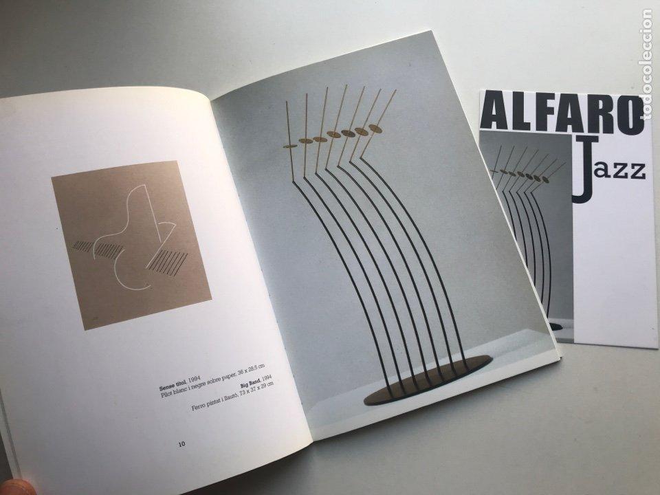 Arte: Envio 8€. Catalogo ALFARO JAZZ galería ROSALÍA SENDER. 21x14,5cm. Pag 32+portadas.... - Foto 2 - 253107460