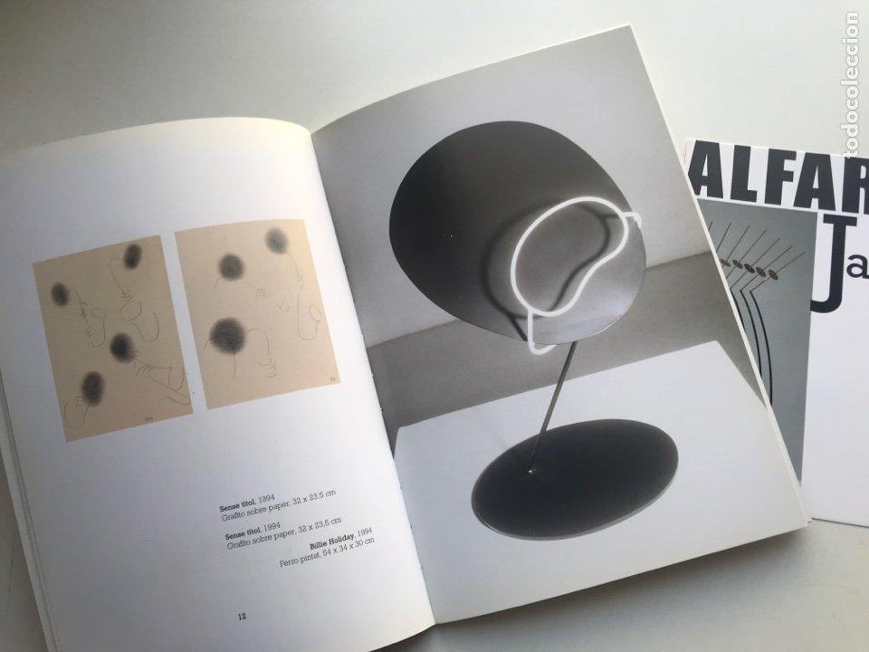 Arte: Envio 8€. Catalogo ALFARO JAZZ galería ROSALÍA SENDER. 21x14,5cm. Pag 32+portadas.... - Foto 3 - 253107460