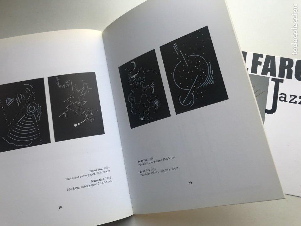 Arte: Envio 8€. Catalogo ALFARO JAZZ galería ROSALÍA SENDER. 21x14,5cm. Pag 32+portadas.... - Foto 4 - 253107460