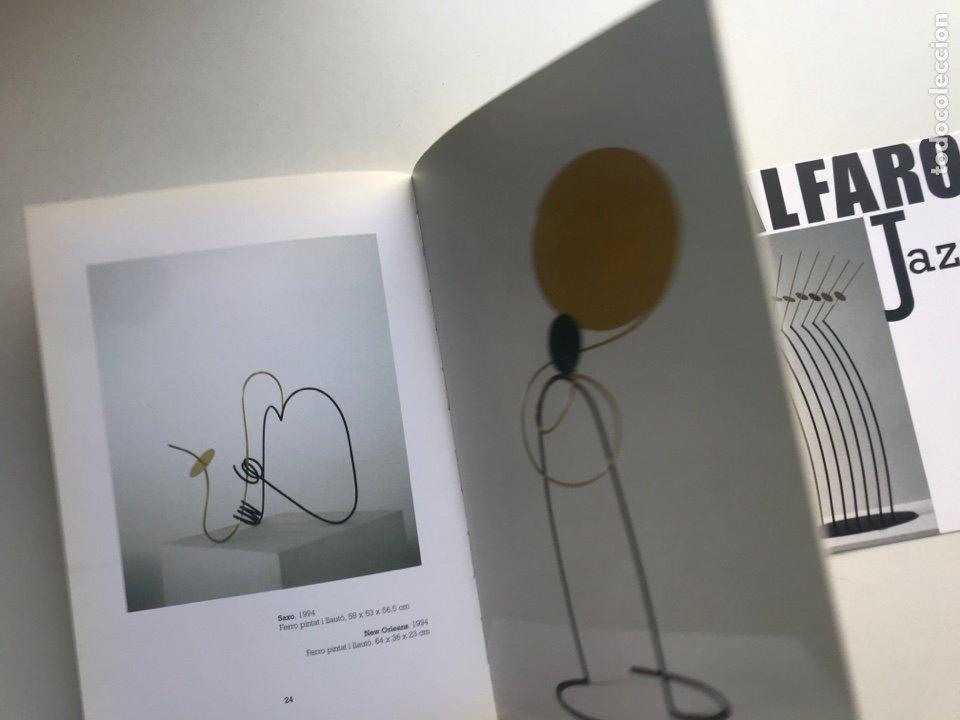 Arte: Envio 8€. Catalogo ALFARO JAZZ galería ROSALÍA SENDER. 21x14,5cm. Pag 32+portadas.... - Foto 5 - 253107460