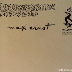 Arte: MAX ERNST, KABINET COMPLETO CON SUS 10 LIBROS, 1980-83. Lote 172575287