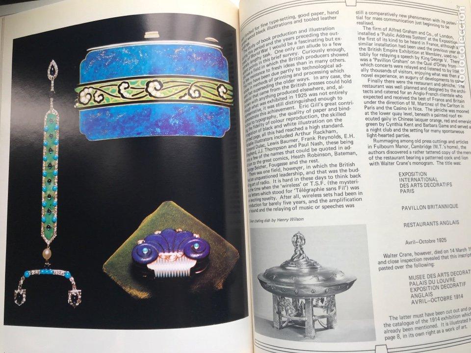 Arte: Envío 8€. Libro ARTs DECOratifs de1925, mide 29,5x21,5cm con108pag mas portadas - Foto 6 - 253416155