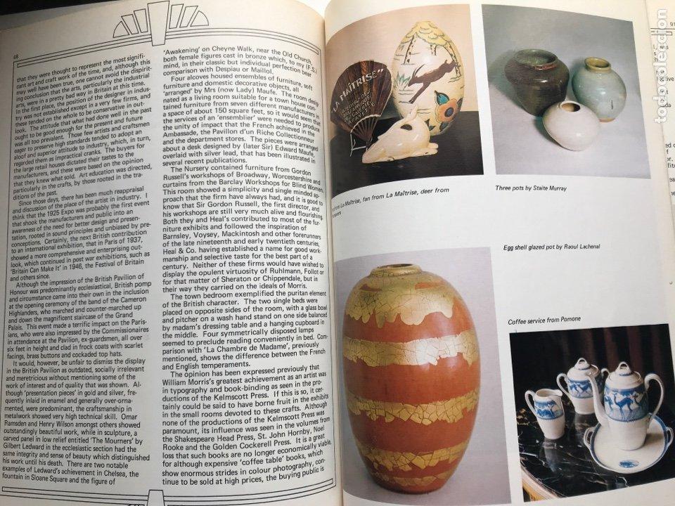 Arte: Envío 8€. Libro ARTs DECOratifs de1925, mide 29,5x21,5cm con108pag mas portadas - Foto 7 - 253416155