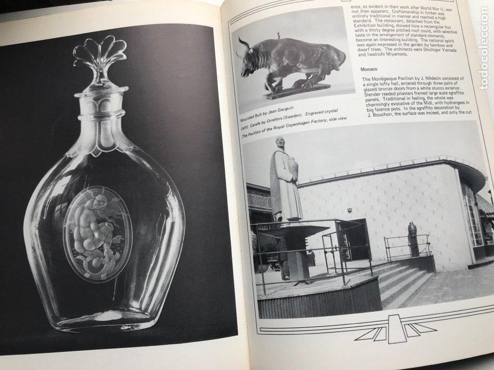 Arte: Envío 8€. Libro ARTs DECOratifs de1925, mide 29,5x21,5cm con108pag mas portadas - Foto 8 - 253416155