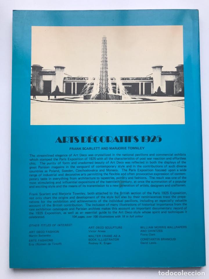 Arte: Envío 8€. Libro ARTs DECOratifs de1925, mide 29,5x21,5cm con108pag mas portadas - Foto 9 - 253416155