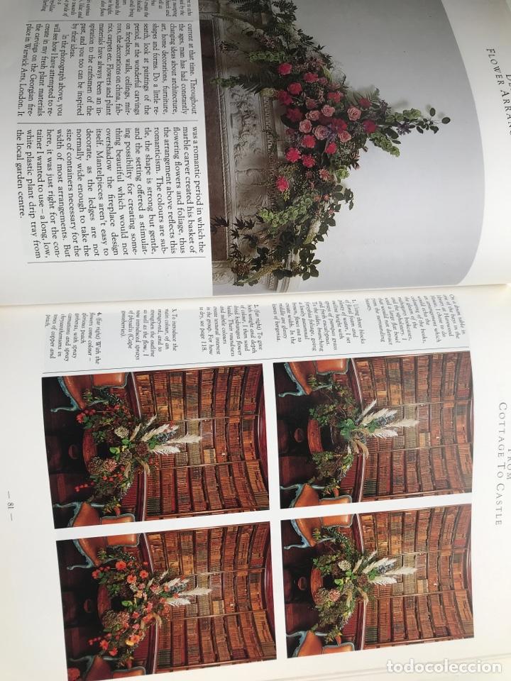 Arte: Envío 8€. Libro FLOWER ARRANGERS BIBLE por Derek Bridges, mide 28x21,5cm con144pag mas portadas - Foto 5 - 253416780
