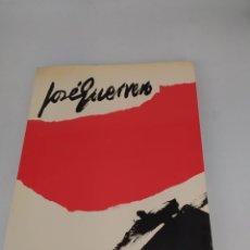 Arte: JOSÉ GUERRERO. Mº DE CULTURA DICIEMBRE 1980-ENERO 1981. Lote 253710055
