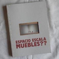 Arte: (SEVILLA) CATÁLOGO MUEBLES?? ESPACIO ESCALA CAJASOL 2009. Lote 254175165