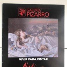 Arte: ENVIÓ 8€. CATALOGO DE ALEX ALEMANY DE 8 PAG. MIDE 26,5X21CM. Lote 254879870