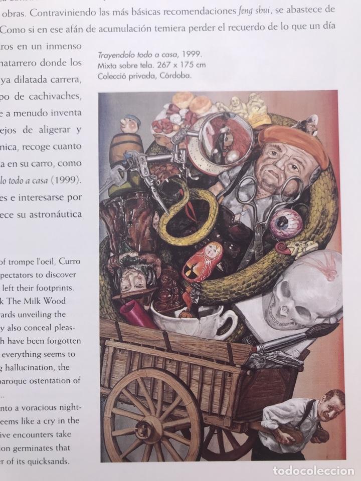 Arte: Envió 8€. Catalogo de CURRO GONZALEZ de 56 pag. mas cubierta con solapa, mide 26x22,5cm - Foto 2 - 254880480