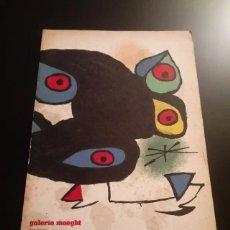 Arte: CATÁLOGO GALERÍA MAEGHT. Lote 256013990
