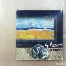 Arte: GEORGES BRAQUE - DE DRAEGER - 1971 -(L1). Lote 257352585