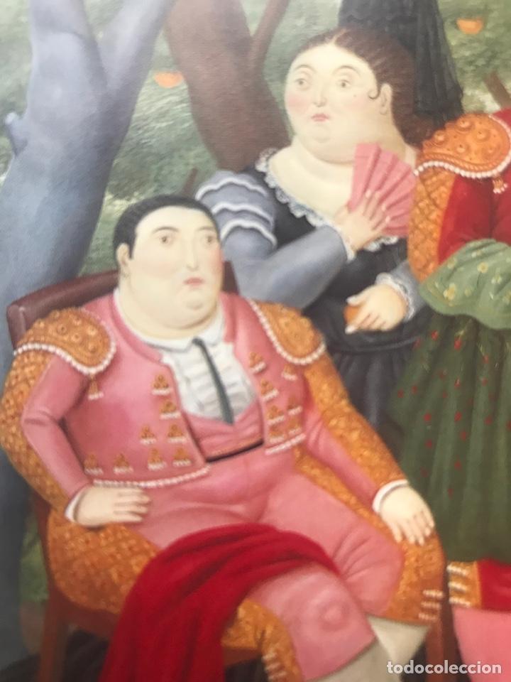 Arte: Envió 8€. Folleto BOTERO LA CORRIDA. tríptico, Fundación Fondo de Cultura de S. 1992 mide 21x10cm - Foto 3 - 257380260