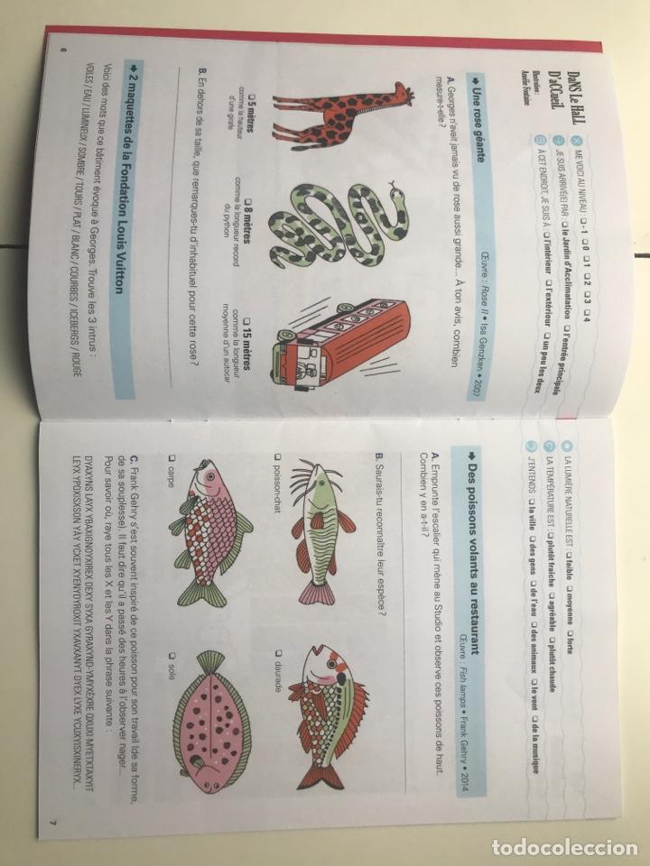 Arte: Envió 8€. Catalogo FONDATION LOUIS VUITTON carnet de jeux mide 21x15cm, 22pag mas cubiertas - Foto 3 - 257380805