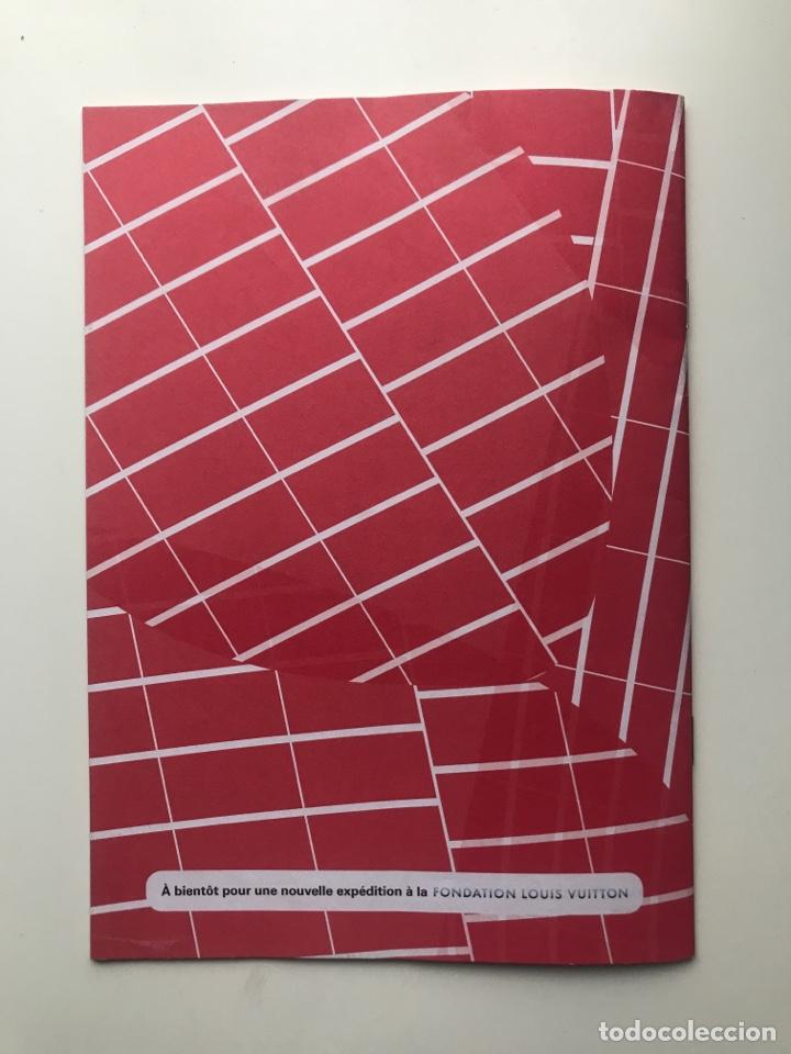 Arte: Envió 8€. Catalogo FONDATION LOUIS VUITTON carnet de jeux mide 21x15cm, 22pag mas cubiertas - Foto 6 - 257380805