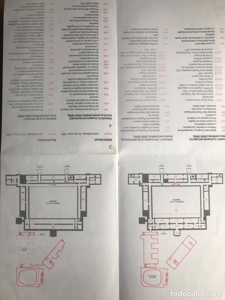 Arte: Envió 8€. Planos del museo REINA SOFIA 21x15cm - Foto 4 - 257380970