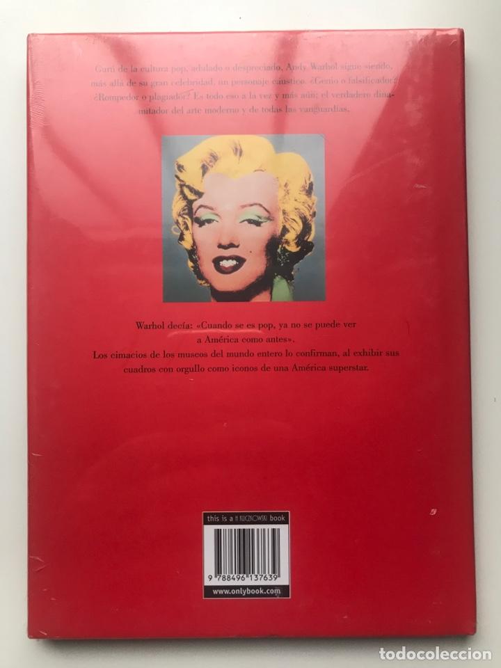 Arte: Envió 8€. Catalogo Libro ANDY WARHOL de Philippe Tretiack 22x16cm, nuevo plastificado - Foto 3 - 257381670