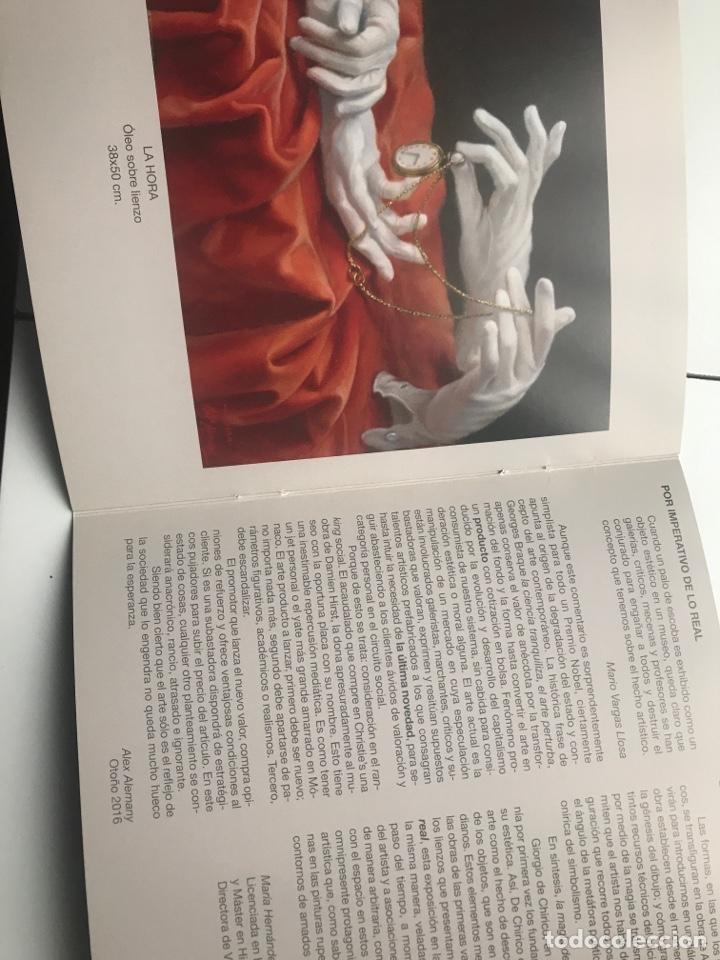 Arte: Envió 8€. Catalogo Galería Pizarro ALEWX ALEMANY 20x20cm, 8 Pag - Foto 4 - 257383255
