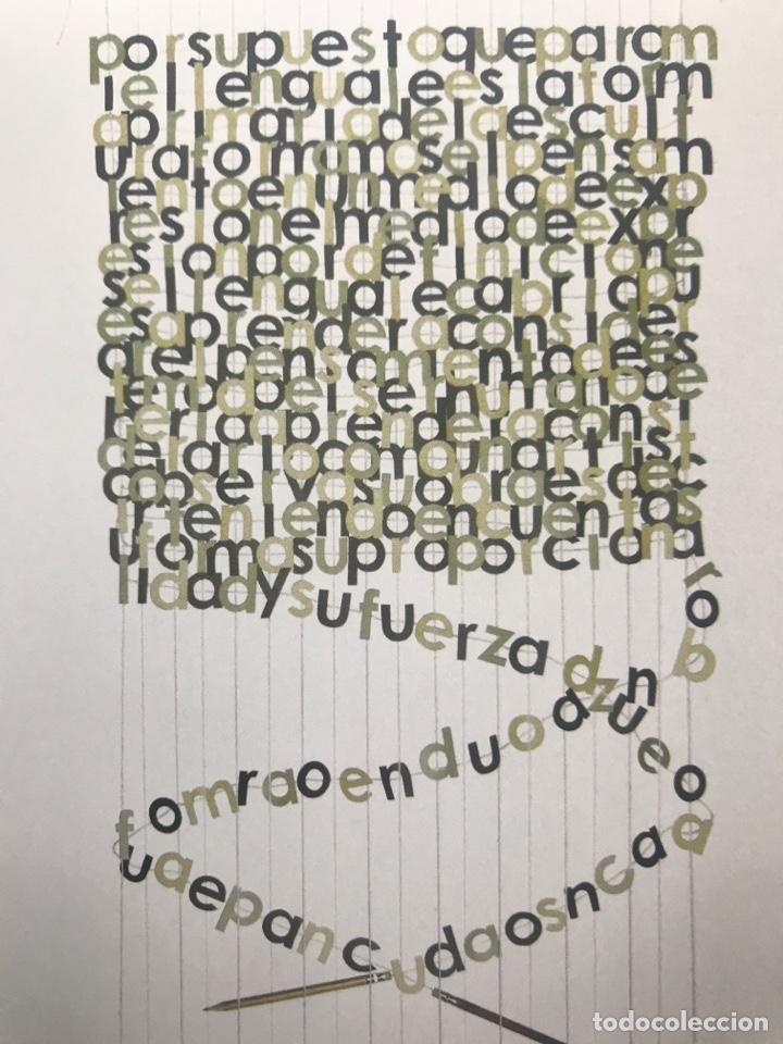 Arte: Envió 8€. Catalogo No Me Leas, MIRAME! BEATRIZ DIAZ 21x21cm, 28 Pag mas portadas - Foto 4 - 257383555