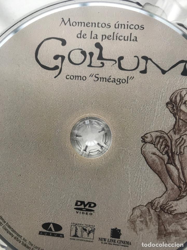 Arte: Envió 8€. Catalogo y dvd CREANDO A GOLLUM 19,5x14,5cm, 44Pag mas portadas - Foto 2 - 257389670