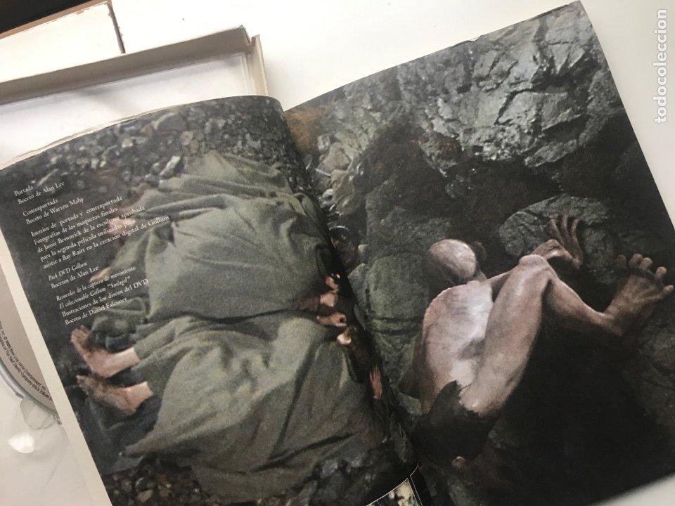 Arte: Envió 8€. Catalogo y dvd CREANDO A GOLLUM 19,5x14,5cm, 44Pag mas portadas - Foto 3 - 257389670