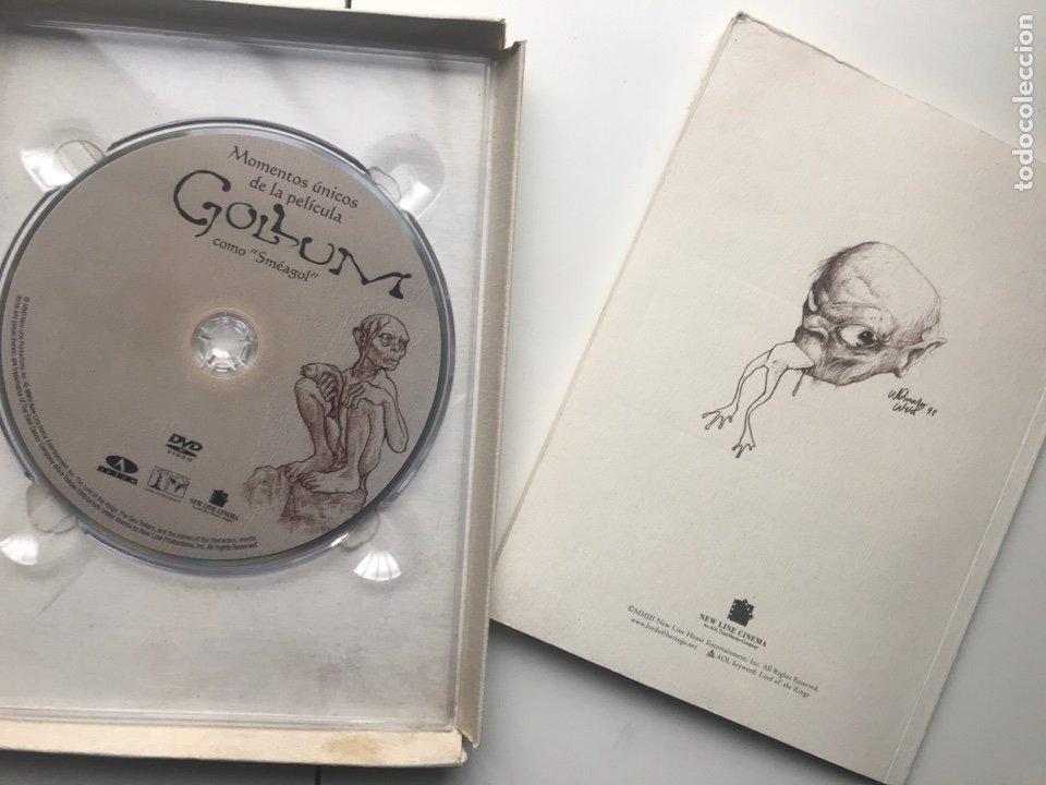 Arte: Envió 8€. Catalogo y dvd CREANDO A GOLLUM 19,5x14,5cm, 44Pag mas portadas - Foto 7 - 257389670