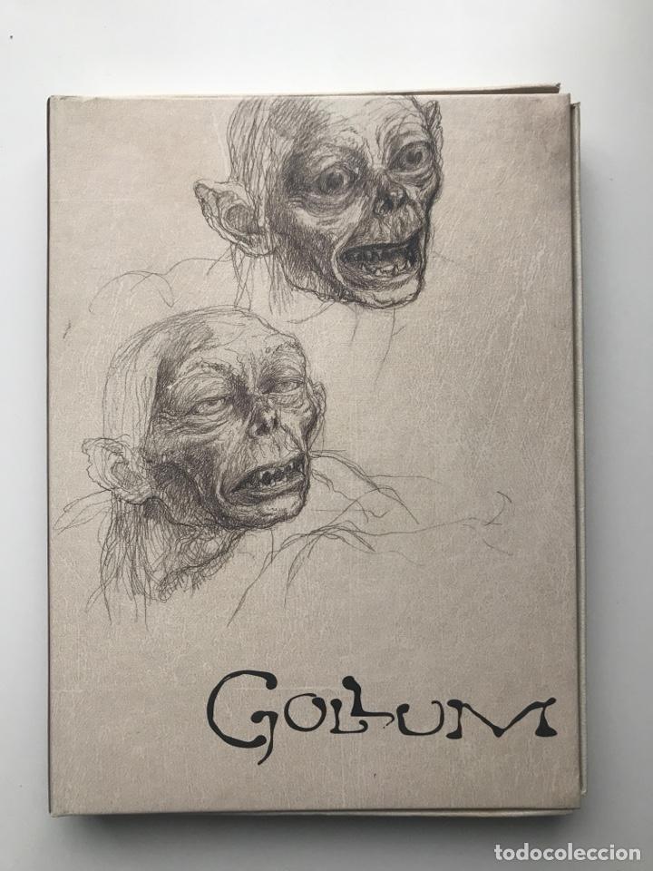 Arte: Envió 8€. Catalogo y dvd CREANDO A GOLLUM 19,5x14,5cm, 44Pag mas portadas - Foto 8 - 257389670