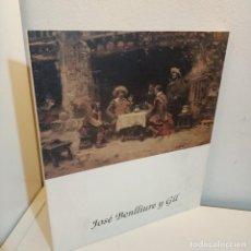 Arte: CATALOGO BENLLIURE Y GIL, 1855-1937, CATALOGO DE PINTURA / PAINTING CATALOG, 1994. Lote 258141185