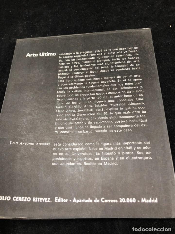 """Arte: Arte Último, La """"Nueva Generación"""" en la escena española. Juan Antonio Aguirre. 1969 1ª edición - Foto 11 - 259756445"""