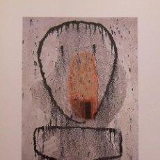 Arte: JOSÉ DE GUIMARAES. GALERÍA RENÉ METRAS. BARCELONA. 1992. TRÍPTICO. ILUSTRADO. 22X16 CM.. Lote 260391510