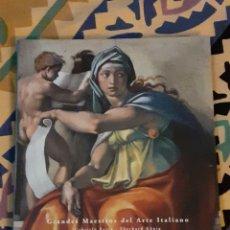 Arte: MIGUEL ÁNGEL. 138 PGS. COLOR. H.F. ULLMANN. EDICION ESPECIAL. 26 X 22 CM. TAPA CARTULINA DURA.. Lote 260680535