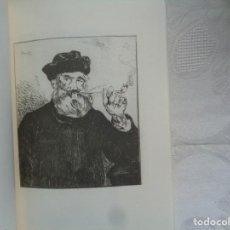 Arte: EDOUARD MANET (GRABADOS). COLECCIÓN VALENTINE DETHOMAS DE ZULOAGA. 1998.. Lote 263071690