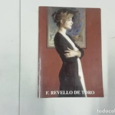 Arte: F REVELLO DE TORO - 2000 - SALA NONELL BARCELONA. Lote 263285220