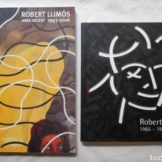 Arte: ROBERT LLIMÓS PINTURA ARTE CONTEMPORÁNEO CATÁLOGO DIBUJO ARTISTA. Lote 263673445