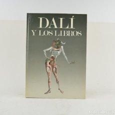 Arte: CATÁLOGO DALÍ Y LOS LIBROS, 1985, CAJA DE BARCELONA, EDITORIAL MEDITERRÀNIA, BARCELONA. 30,5X21,5CM. Lote 264161860