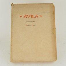 Arte: ÁVILA, NOTAS DE ARTE, 1947, VARIOS AUTORES, GRÁFICAS REUNIDAS, MADRID. 33X25CM. Lote 265728089