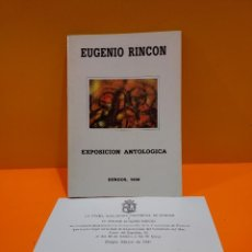 Art: EXPOSICION ANTOLOGICA DE EUGENIO RINCON...BURGOS..1990. Lote 265981513