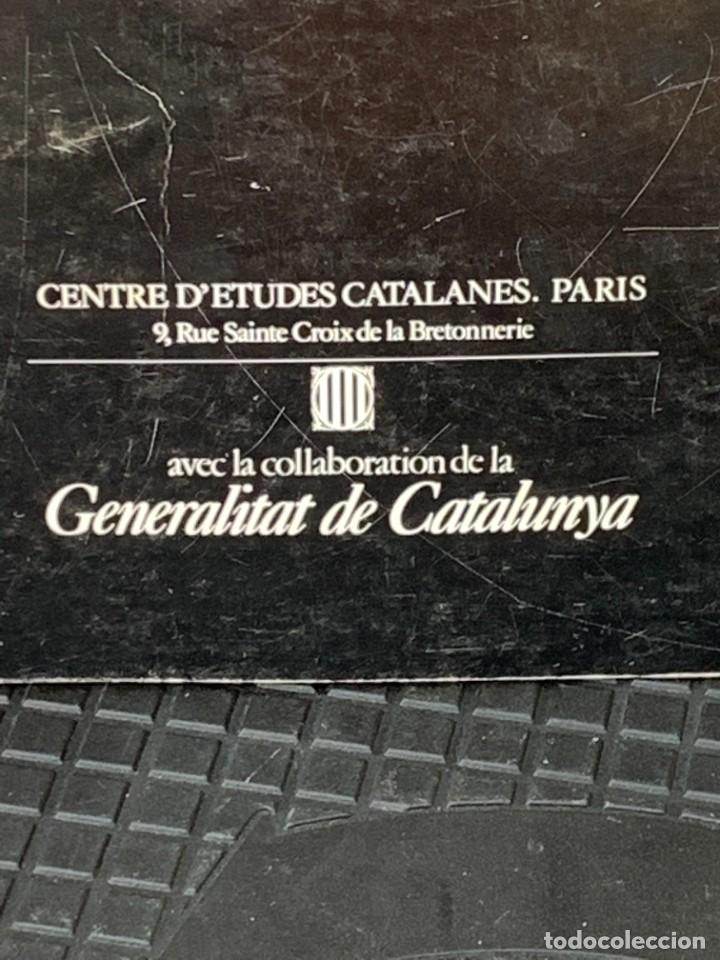 Arte: GUINOVART CENTRE D´ETUDES CATALANES PARIS 1983 BARCELONA 29X21CMS - Foto 3 - 267907764