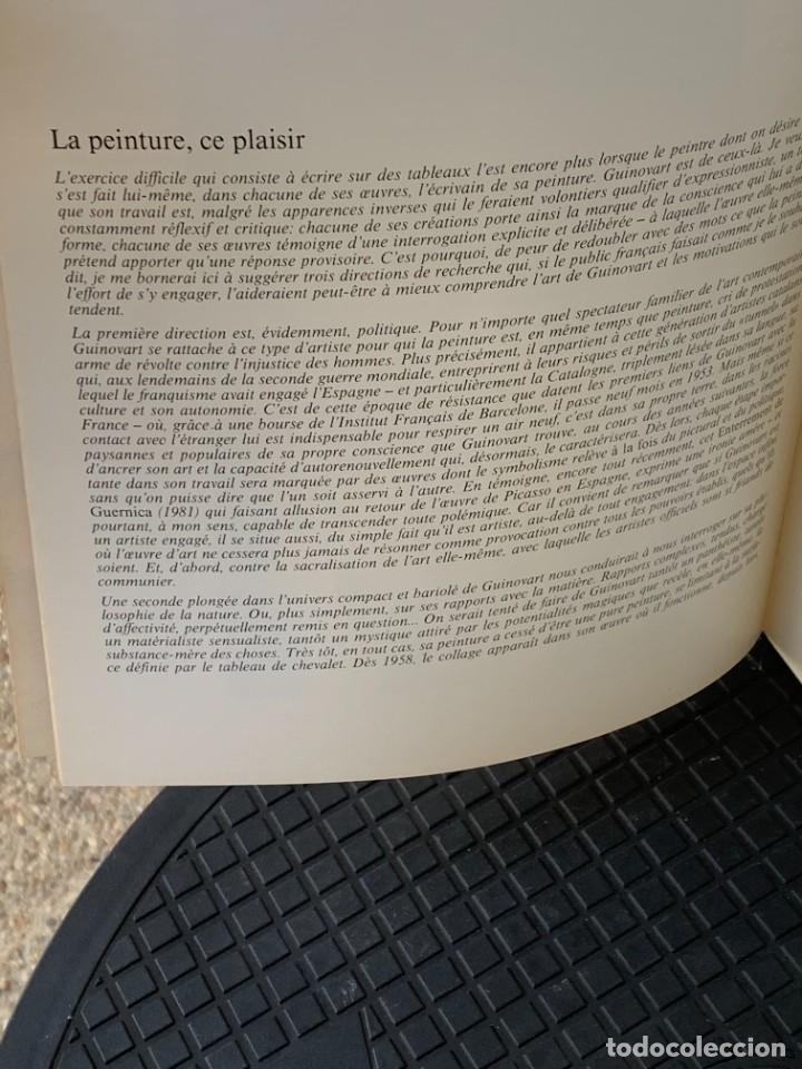 Arte: GUINOVART CENTRE D´ETUDES CATALANES PARIS 1983 BARCELONA 29X21CMS - Foto 7 - 267907764