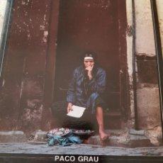 Arte: PACO GRAU - FOTOGRAFÍA - CENTRE MUNICIPAL DE CULTURA - ALCOI - 1989. Lote 268254259