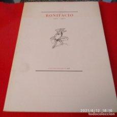 Arte: CATÁLOGO DE BONIFACIO, GALERÍA RAFAEL PÉREZ HERNANDO, 1998, 181 PÁGINAS, ENCUADERNADO EN RÚSTICA .. Lote 268868844