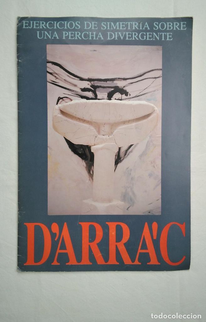 JUAN FERNANDO DE LAIGLESIA D'ARRAC. EJERCICIOS DE SIMETRÍA SOBRE UNA PERCHA DIVERGENTE. HUESCA, 1989 (Arte - Catálogos)