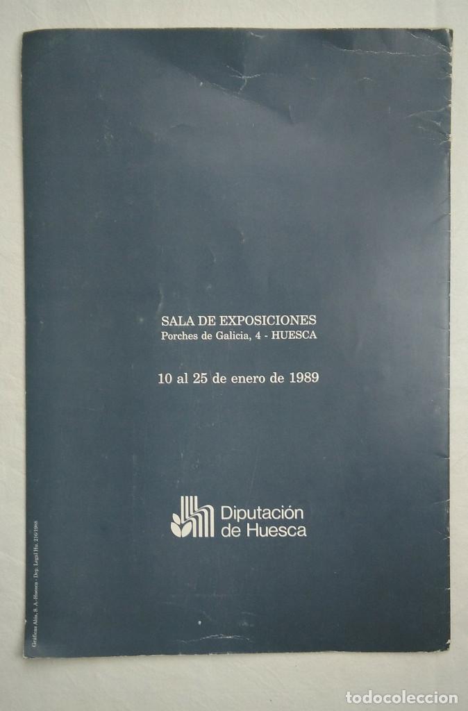 Arte: Juan Fernando de Laiglesia d'Arrac. Ejercicios de simetría sobre una percha divergente. Huesca, 1989 - Foto 2 - 268913274